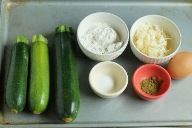 Easy Baked Zucchini Fritters Recipe I Yummy Toddler Food