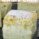 Easy Banana Magic Cake | OMG Chocolate Desserts