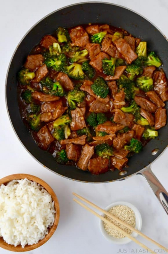 Easy Beef and Broccoli | Just a Taste