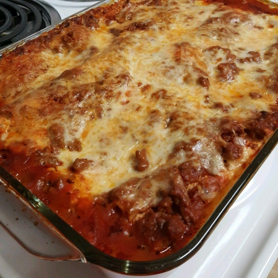 Easy Beef Lasagna Recipe — Dishmaps