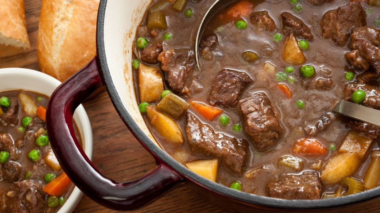 Easy Beef Stew - How to Make The Easiest Way - YouTube