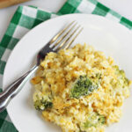 Easy Broccoli Rice Casserole Recipe – Home Cooking Memories