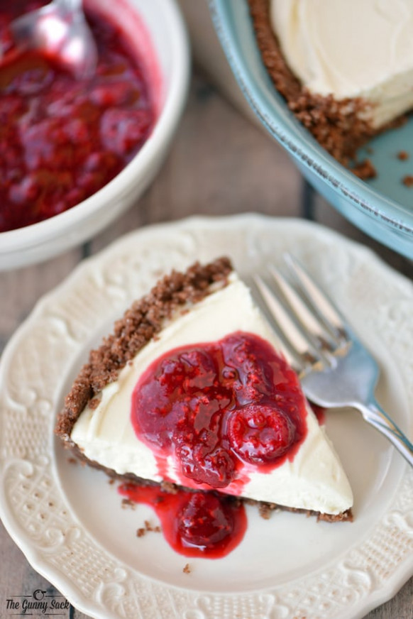 Easy Cheesecake Recipe - The Gunny Sack