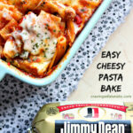 Easy Cheesy Pasta Bake With Sausage And Peppers