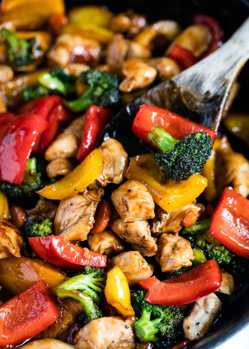 EASY Chicken and Vegetable Stir Fry - I Heart Naptime