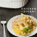 Easy Chicken Divan Recipe Video | Somewhat Simple