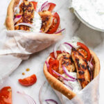 Easy Chicken Gyro Recipe (with Tzatziki Sauce …