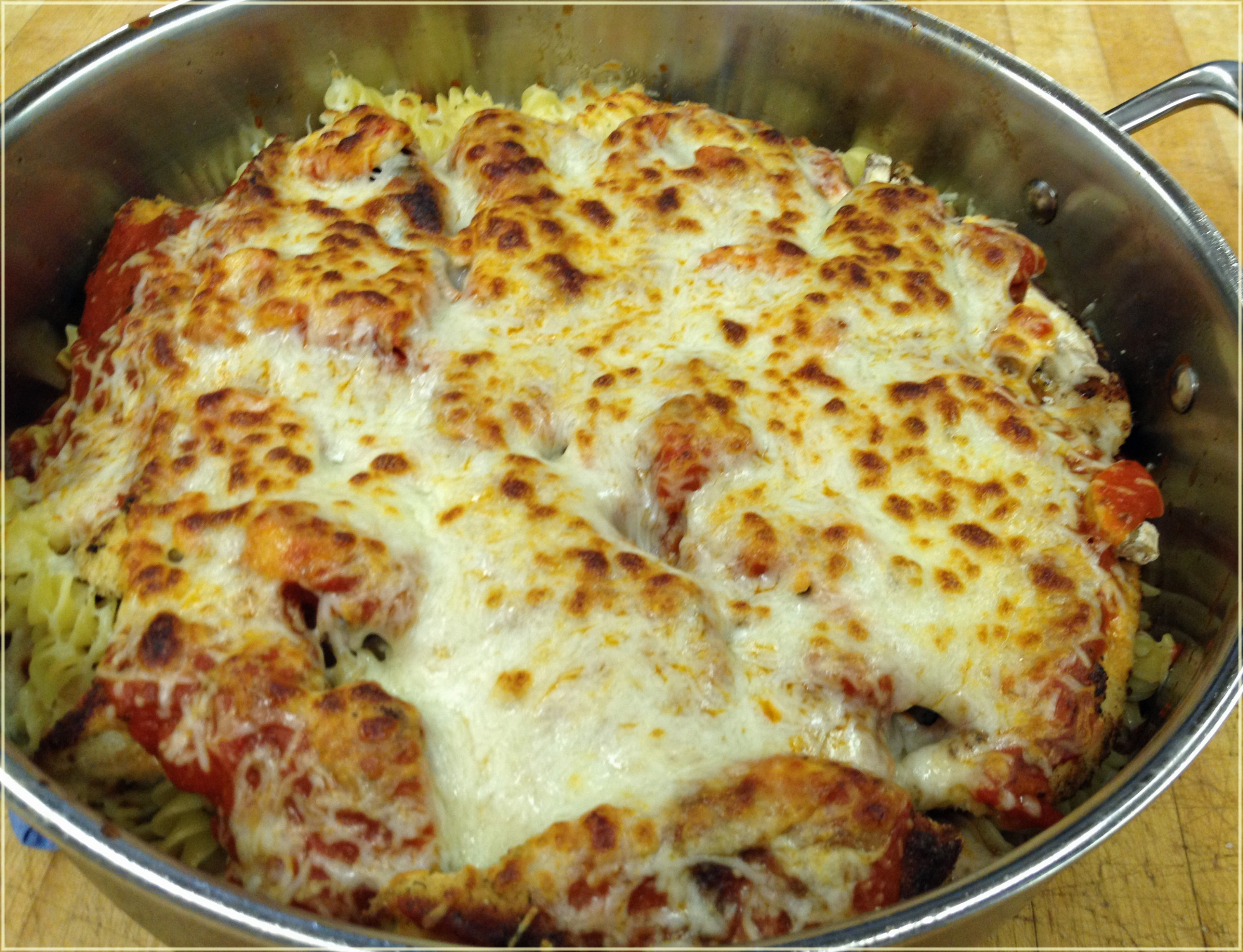 Easy Chicken Parmesan Recipe – Mommy's Fabulous Finds