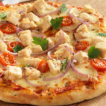 Easy Chicken Pizza | Food In A Minute