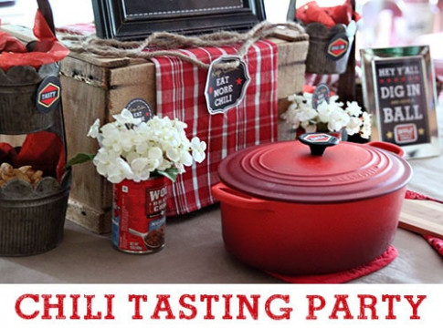 Easy Chili Party Dinner Ideas | Free Printables for a ...