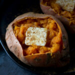Easy & Delicious Microwave Baked Sweet Potato