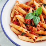 Easy & Delicious Tomato & Basil Penne – Wallflower Kitchen