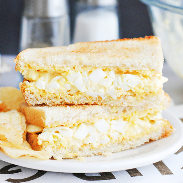 Easy Egg Salad Sandwich Recipe - Home Cooking Memories