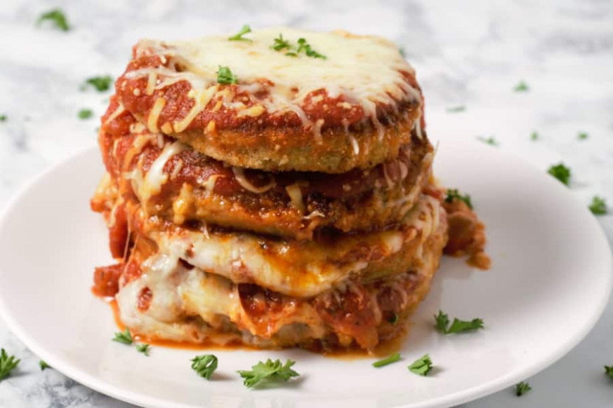 Easy Eggplant Parmesan Recipe for Two • Zona Cooks