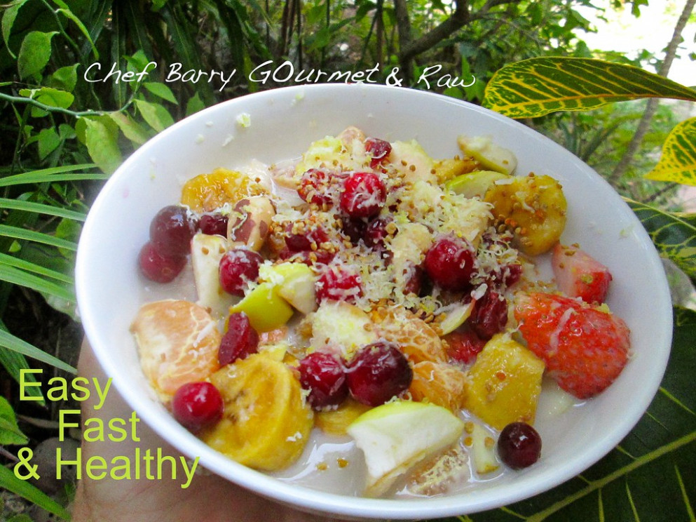 Easy Fast Healthy Snack