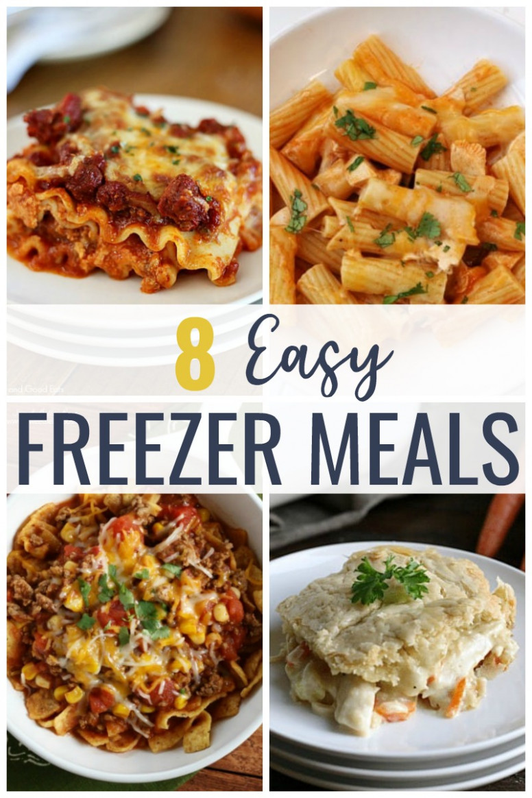 Easy Freezer Meals for New Moms - Grace and Good Eats