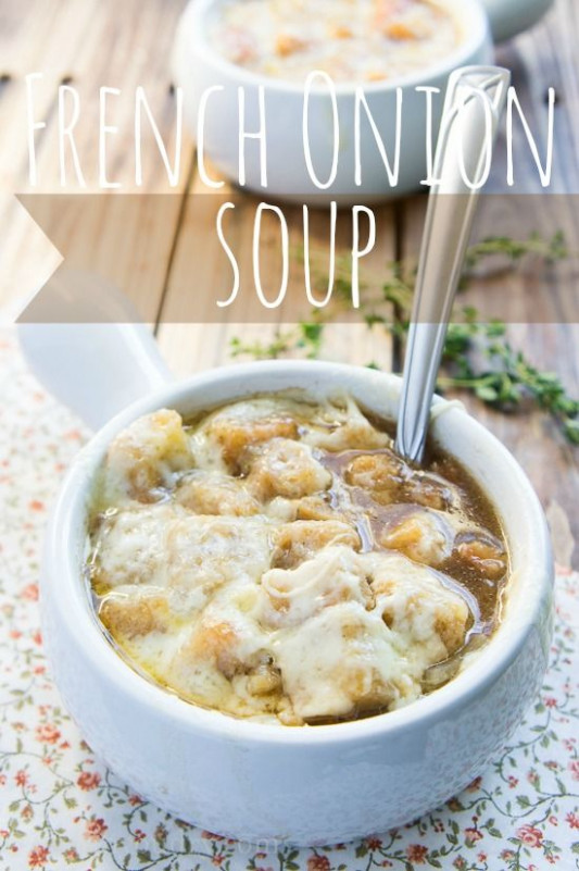Easy French Onion Soup | Recipe | French onion soups ...