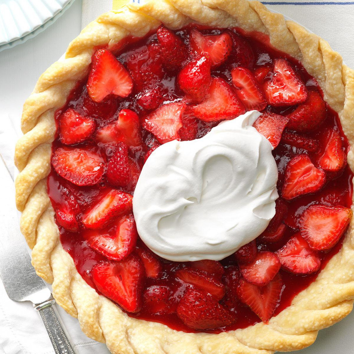 Easy Fresh Strawberry Pie Recipe | Taste of Home