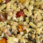 Easy Greek Pasta Salad – Together As Family