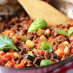 Easy Ground Beef Skillet Recipe | SparkRecipes