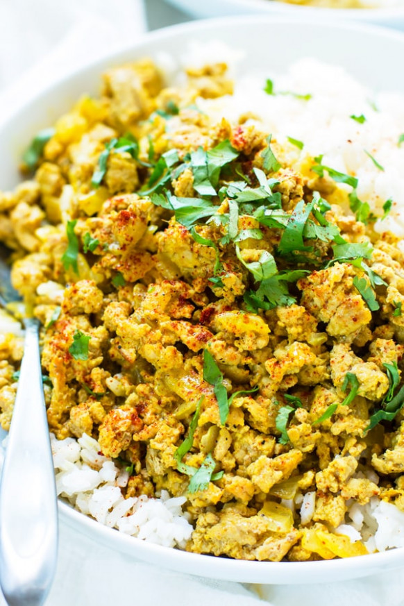 Easy Ground Turkey Curry | Healthy, Paleo and Gluten-Free