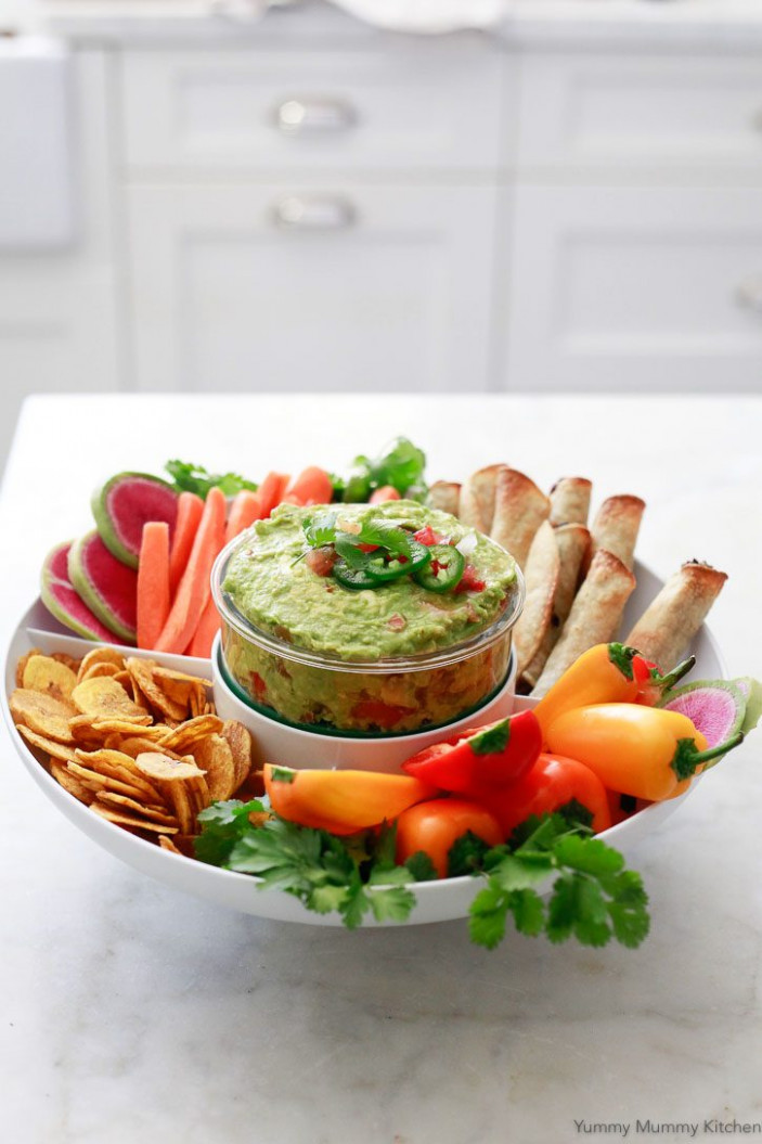 Easy Guacamole Recipe with Salsa - Yummy Mummy Kitchen