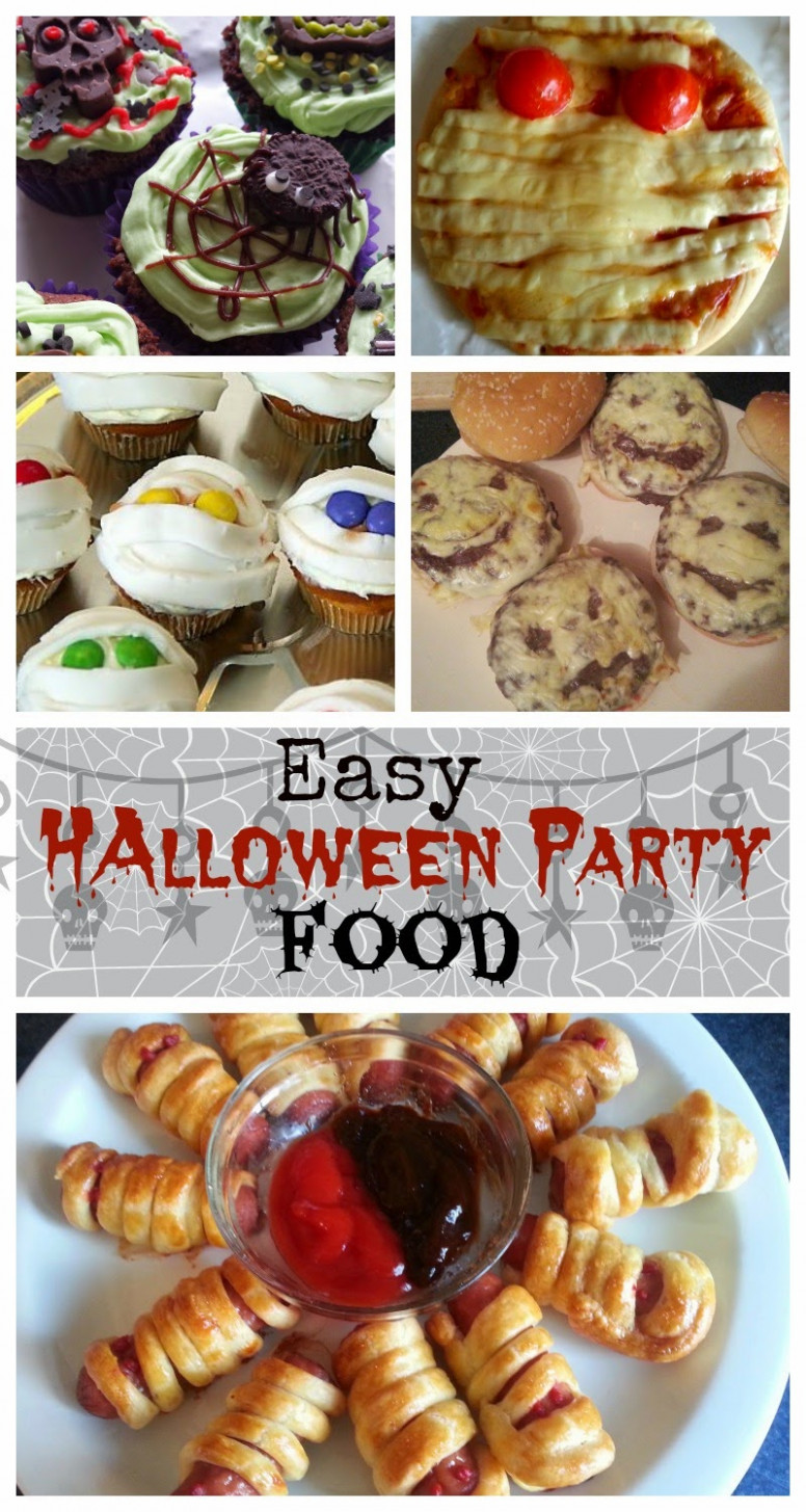 Easy Halloween Party Food for Kids - Snapshots and Snippets