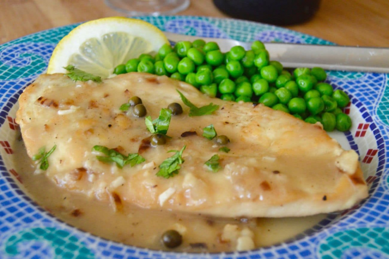 Easy Healthy Comfort Food: Chicken Picatta