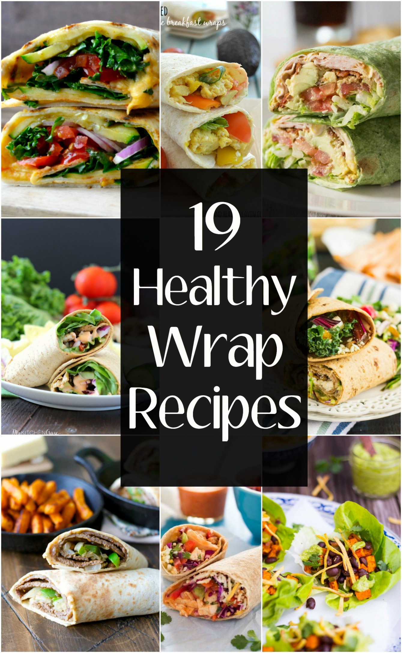 Easy Healthy Wrap Recipes - Maebells