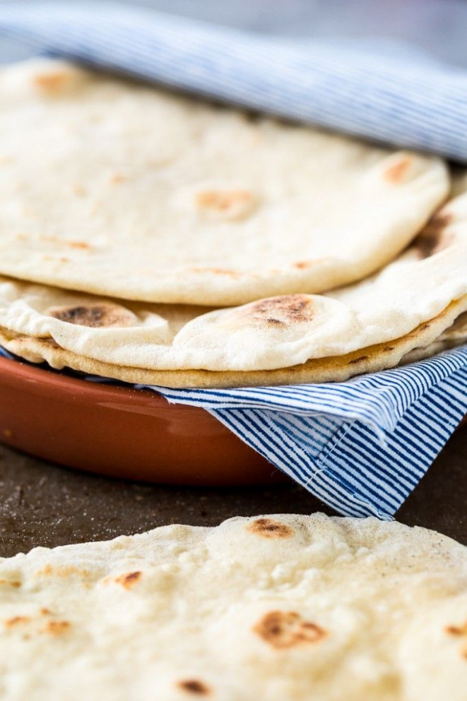 Easy, Homemade, Vegan & Yeast-Free Flatbread | Recipe ...