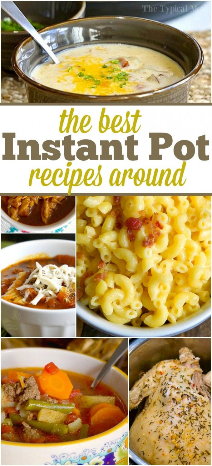 Easy Instant Pot Recipes · The Typical Mom