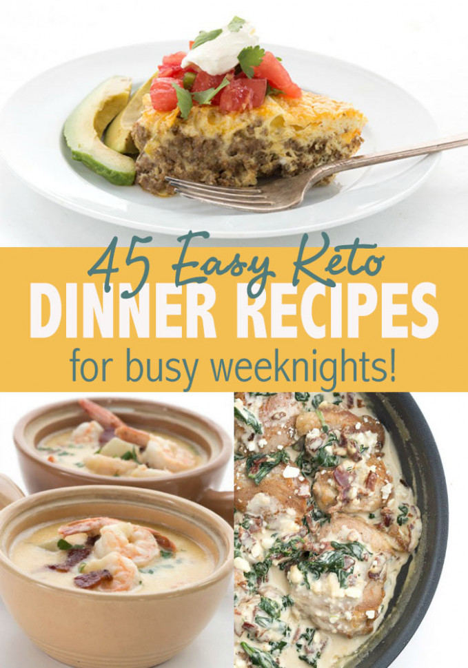 Easy Keto Recipes | All Day I Dream About Food