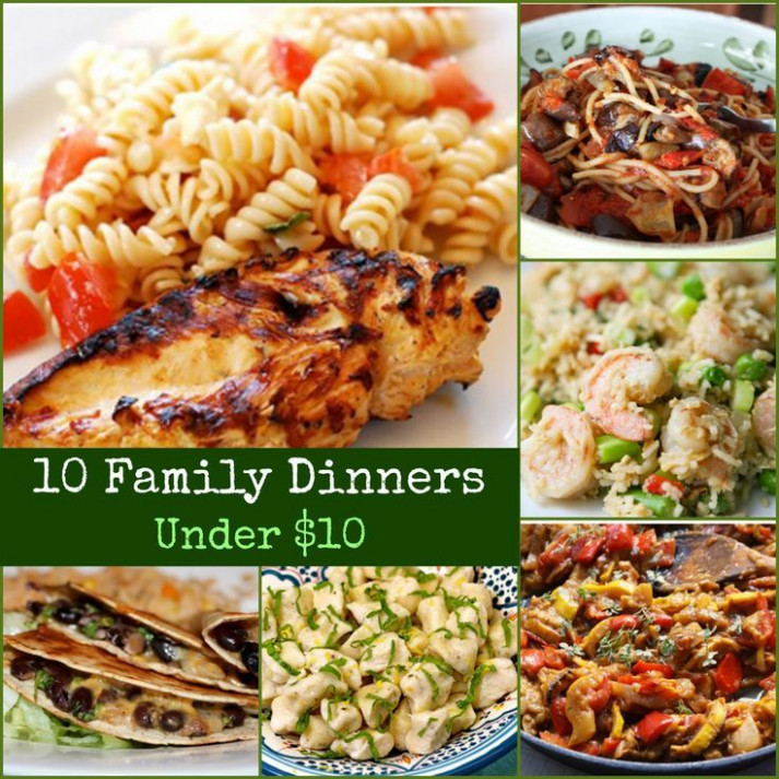 Easy, kid-friendly meals on a budget | Menu Planning 101 ...