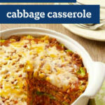 Easy Layered Cabbage Casserole - Casseroles are easy ...