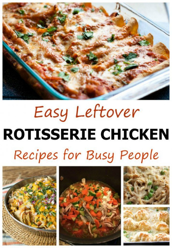Easy Leftover Rotisserie Chicken Recipes for Busy People