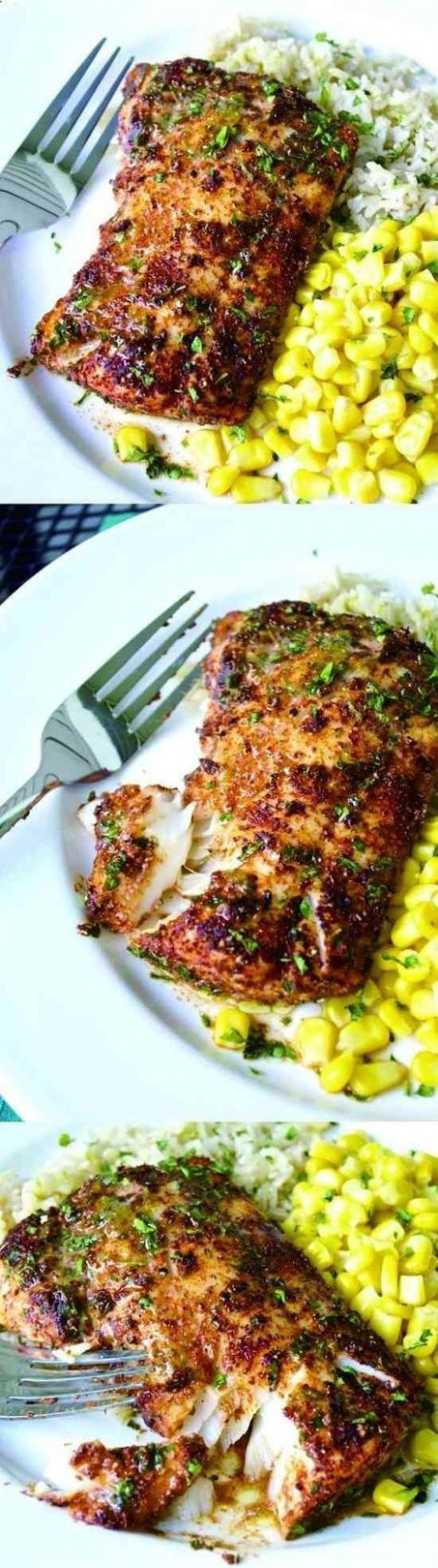 Easy Lemon Butter Fish in 15 Minutes | Recipe | Healthy ...