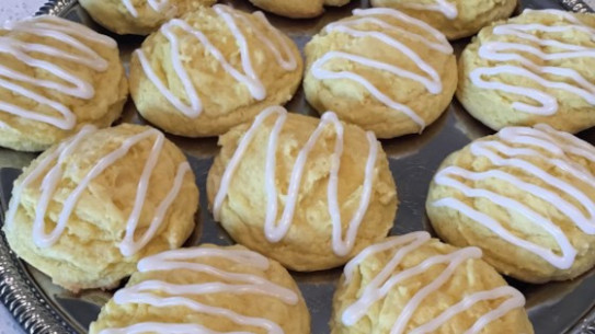 Easy Lemon Cake Cookies with Icing Recipe - Allrecipes.com