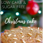 Easy Low Carb Christmas Cake