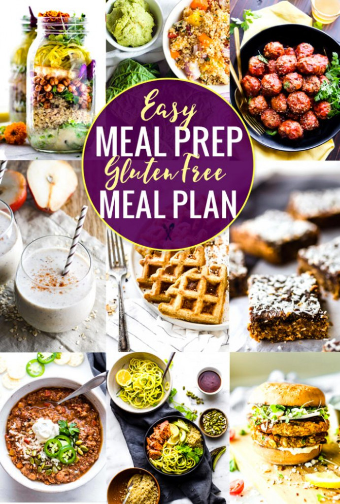 Easy Meal Prep Recipes for a Gluten Free Meal Plan ...