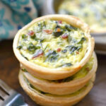 Easy Mini Quiche Recipe · The Typical Mom