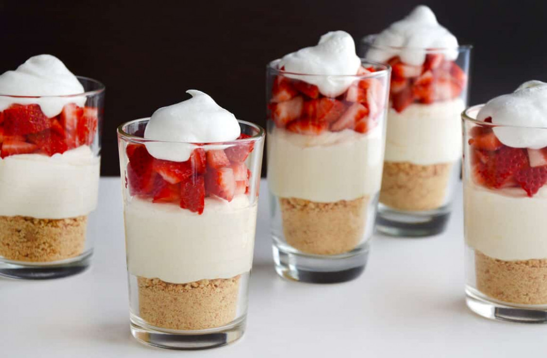 Easy No-Bake Cheesecake Parfaits | Just a Taste