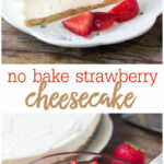EASY No Bake Cheesecake Recipe | Lil' Luna