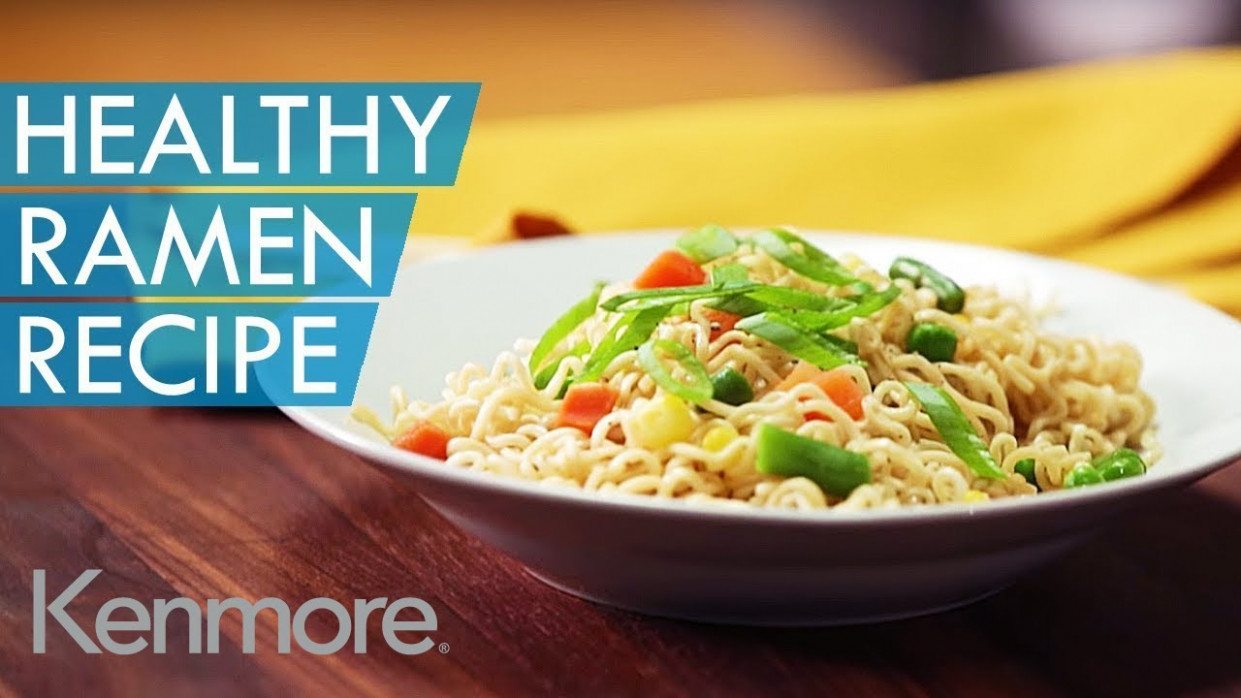 Easy Noodle Recipes: How to Make Healthy Ramen | Kenmore