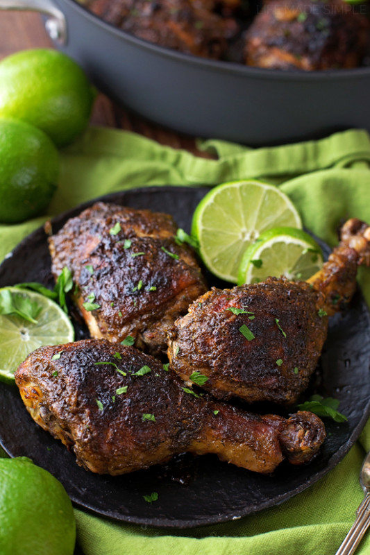 Easy Oven Baked Jerk Chicken - Life Made Simple