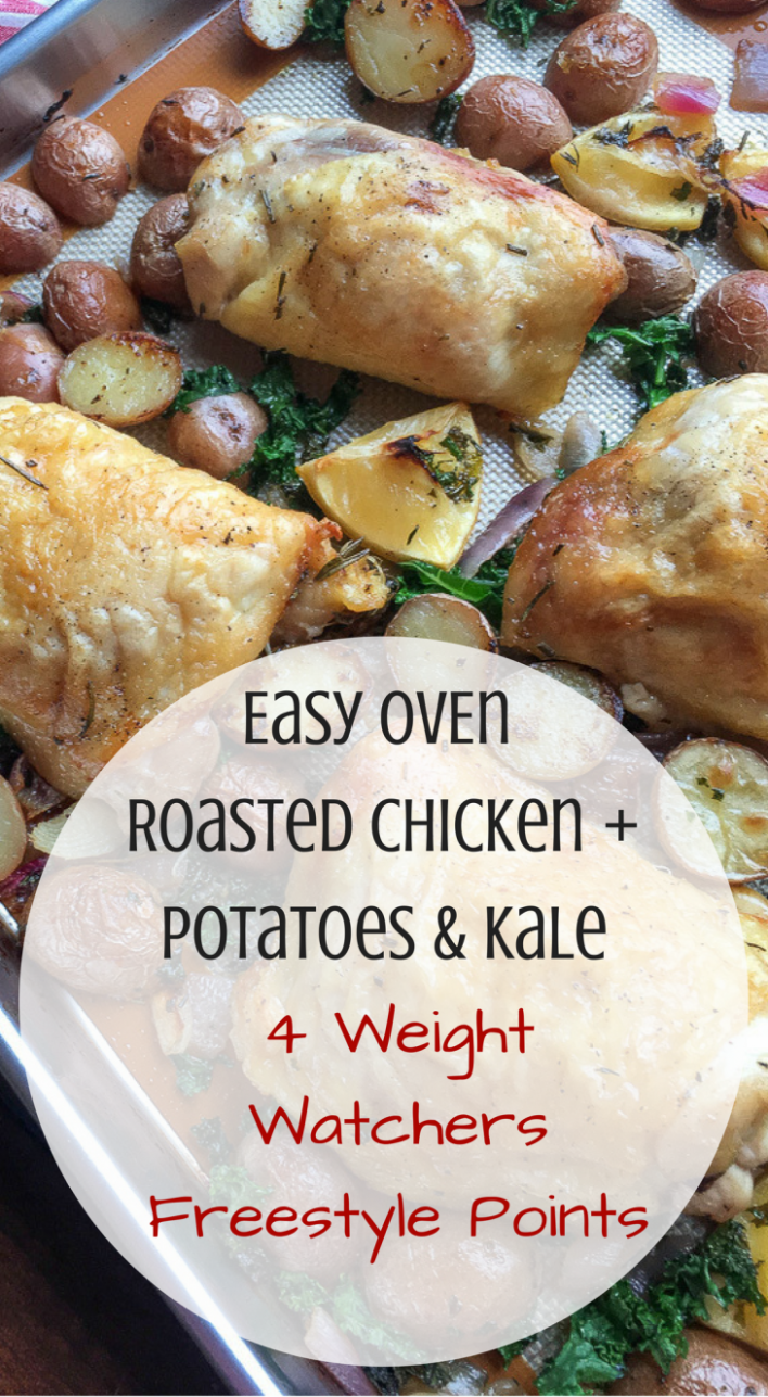 Easy Oven Roasted Chicken with Potatoes & Kale Recipe 4 ...