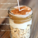 Easy Overnight Oatmeal Recipe – Living Vazzy