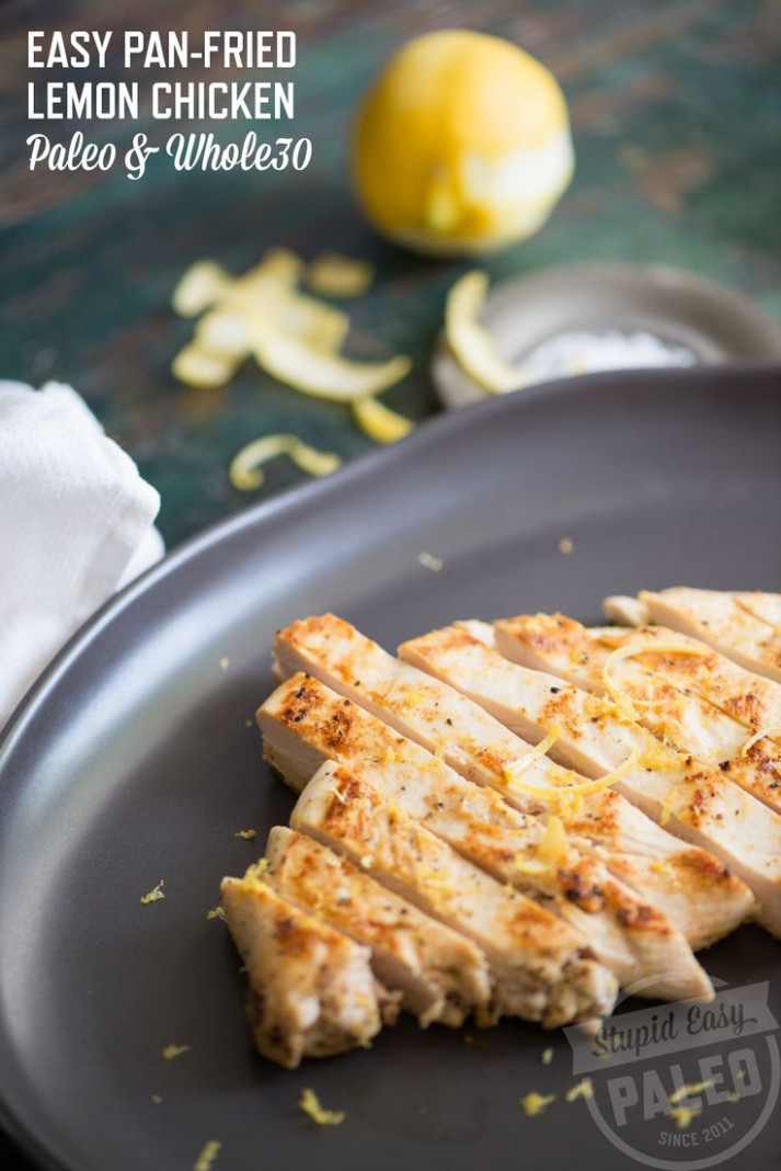 Easy Pan-Fried Lemon Chicken | Recipe | Lemon pepper ...