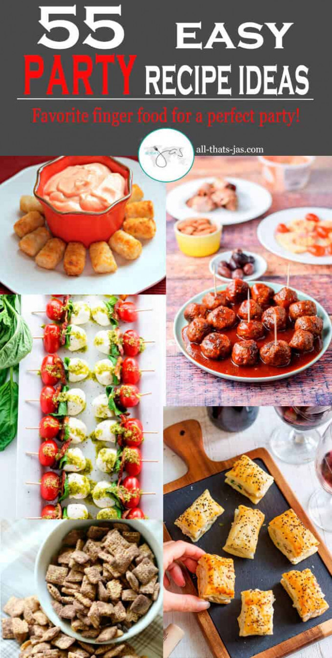 Easy Party Food Recipes for Your Next Gathering | All That ...