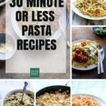 Easy Pasta Recipes That Can Be Made In 9 Minutes Or Less …