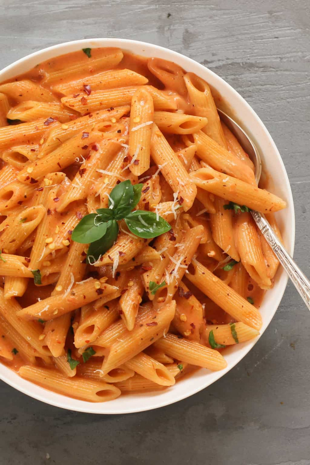 EASY Pasta with Tomato Cream Sauce - Ministry of Curry